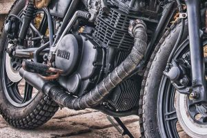 Cafe racer exhaust wrap | Which to use and how to wrap