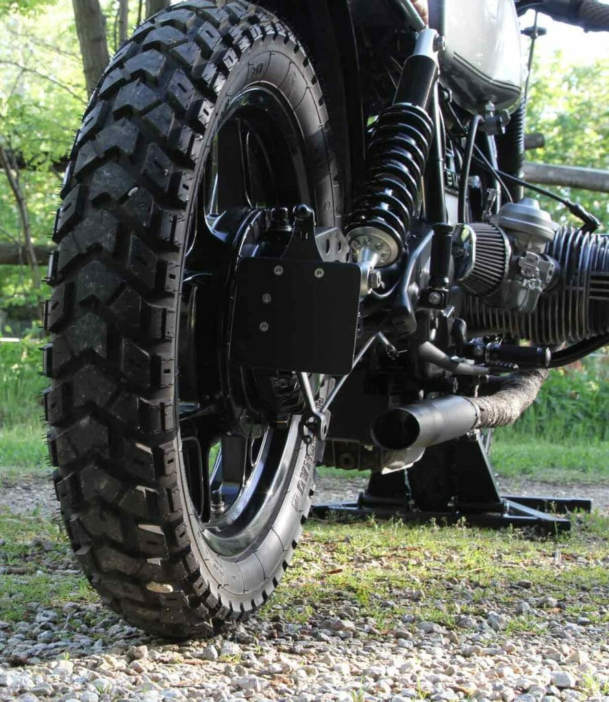 What type of tires? Well I use a K60 Heidenau on my BMW. And I love it!