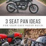 3 cafe racer Seat pan ideas for you build | Stock, Custom, DIY