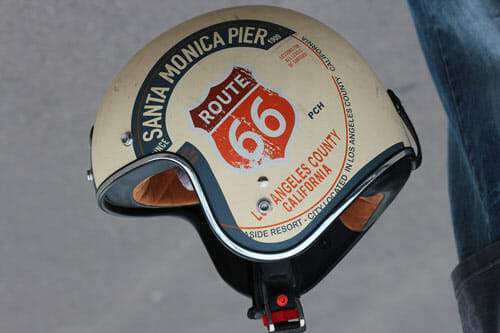 Cafe Racer helmets through the years