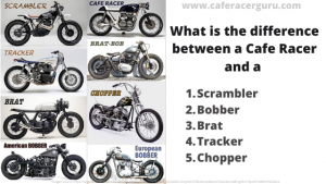 What is the difference between a cafe racer and a
